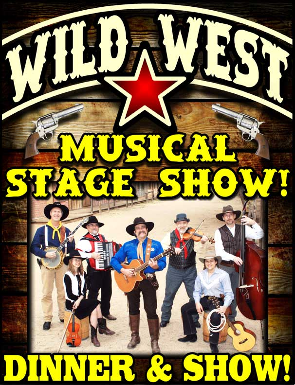 Pioneer Pepper & The Sunset Pioneers sing the songs of Roy Rogers & Gene Autry with their Wild West Musical Stage Show.