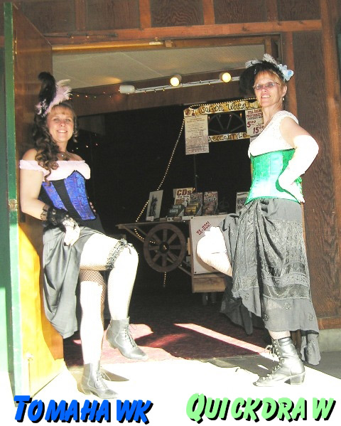 Saloon girls in Etna CA