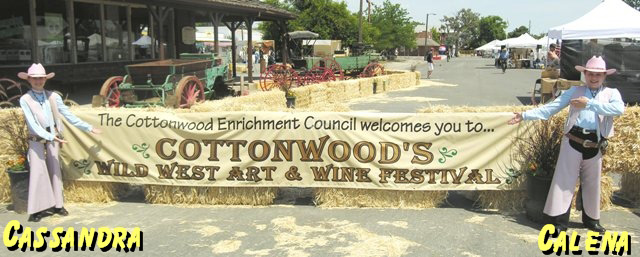 Cottonwood's Wild West Art & Wine Festival