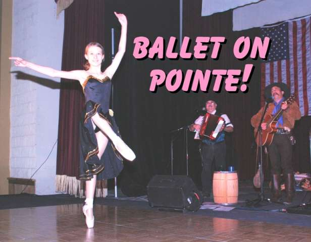Pointe Ballet with Cassandra of The Sunset Pioneers