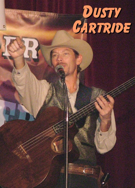 Dusty CartRide of The Sunset Pioneers at the Western Film Festival in Tombstone