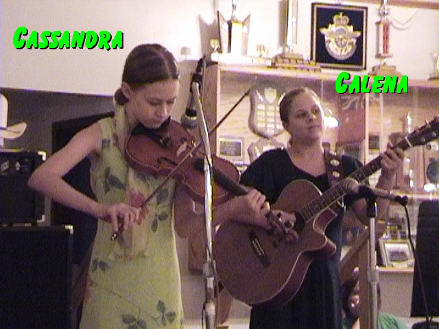 Cassandra & Calena at the Canadian Legion