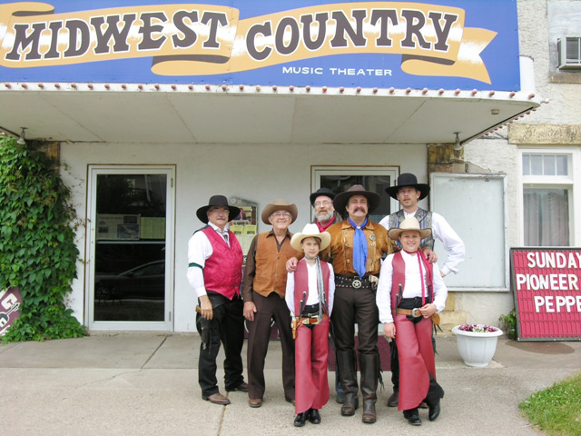 Pioneer Pepper & The Sunset Pioneers at Midwest Country TV