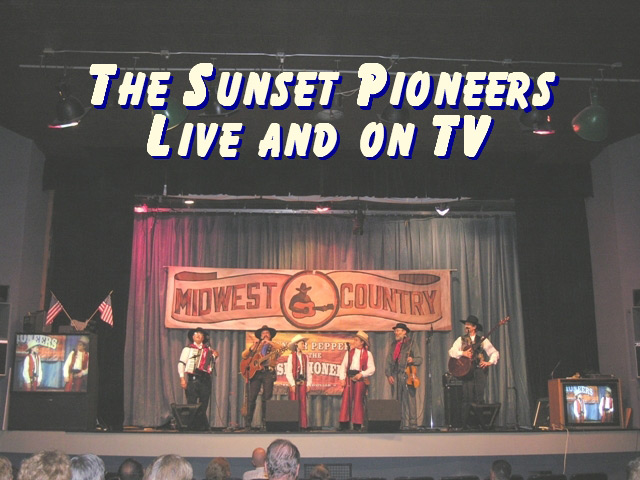 The Sunset Pioneers live on TV Midwest Country