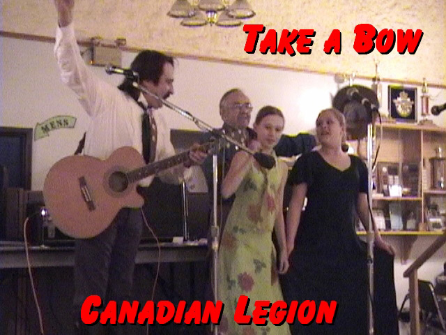 Take a bow at the Canadian Legion