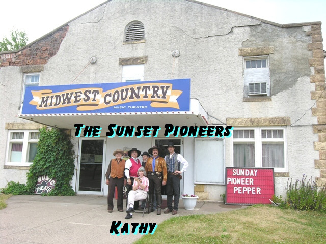 The Sunset Pioneers with Kathy from Midwest Country TV