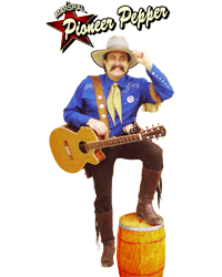 Pioneer Pepper singing cowboy