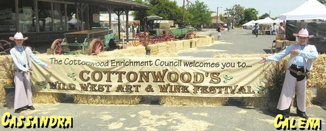 Cottonwood's Wild West Art & Wine Festival