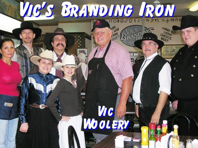 Pioneer Pepper & The Sunset Pioneers at Vic's Branding Iron Retaurant