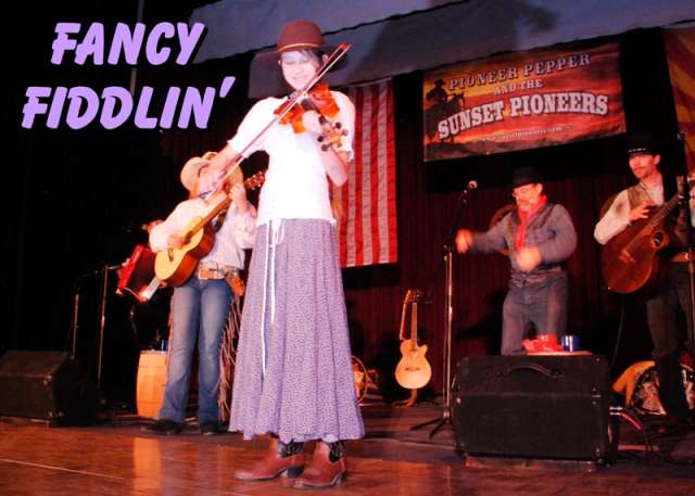 Fancy Fiddlin with Cassandra of The Sunset Pioneers