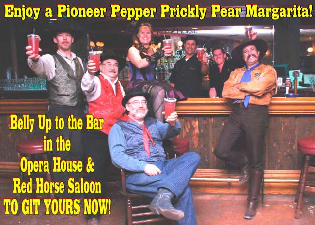 Pioneer Pepper Prickly Pear Margarita