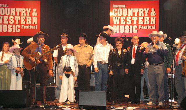 Country & Western Music Festival in Austria with Pioneer Pepper & The Sunset Pioneers