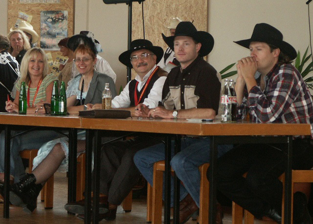 European Line Dance Awards judged by Doc Bellows and Quickdraw of The Sunset Pioneers