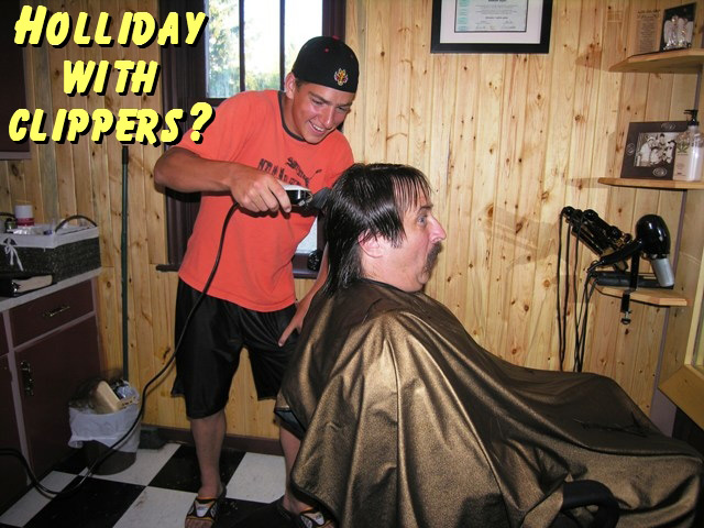 Holiday with clippers