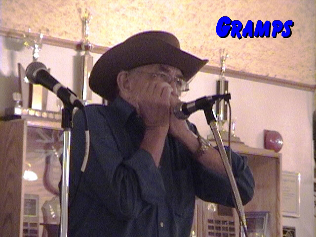 Gramps performs at the Canadian Legion