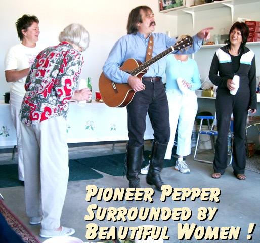Pioneer Pepper private show
