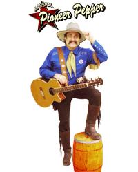 Pioneer Pepper singing cowboy